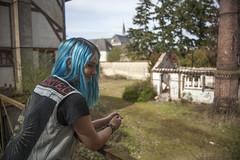 _MG_3342 (LennyW) Tags: urbex france girl blue hair city canon 5d 5 d mark 2 ii mk2 mkii 2880 28 80 f3556 f35 35 f56 56 usm electric model digital eos