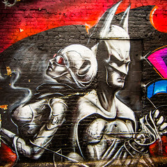 Every Batman Needs a Girlfriend (Thomas Hawk) Tags: 5points 5pointz 5pointznyc 5ptz 5pointzaerosolartcenter america batman brooklyn fivepoints fivepointz instituteofhigherburning longislandcity manhattan nyc newyork newyorkcity usa unitedstates unitedstatesofamerica graffiti superhero fav10 fav25