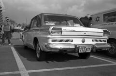 Studebaker Lark (Ilya.Bur) Tags: studebaker lark vintage car vehicle canon 7 color skopar 35mm f25 adox silvermax 100 caffenolcl 40min20c analog film bw blackwhite white