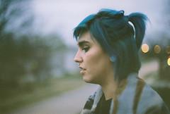 (nerve jamming) Tags: fujifilm analog 35mm film kodak ft nikkormat profile portrait girl