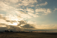Dunkerque (AdrienG.) Tags: dunkirk plage beach sunset coucher soleil mer du nord north sea sony rx100 iii mark m 3 ソニ