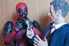 Ready for Doctor's Return? (vanyrei) Tags: deadpool hottoys doctorwho bbc doctor sonicscrewdriver capaldi 12th ryanreynold actionfigures bigchiefstudios