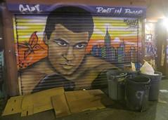 Ali (edenpictures) Tags: muhammadali boxer chico mural painting grafitti streetart grating newyorkcity nyc manhattan avenueb eastvillage alphabetcity