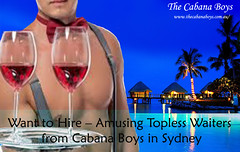 Topless waiters Sydney (cabanaboys) Tags: toplesswaiters sydney topless waiters