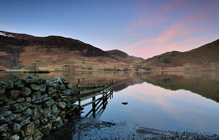 Crummock first light