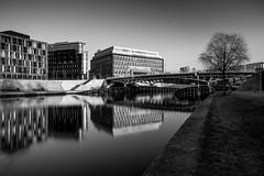 Kronprinzenbrücke (REAL PLUS) Tags: berlin stadt stadtlandschaft stadterkundung nikon d7200 deutschland hauptstadt architektur landschaft sonnenuntergang reflexionen langzeitbelichtung