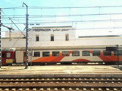 SIDI KACEM train station (nothinginside) Tags: marocco sidikacem sidi kacem treno train gare station stazione travel trip 2017 holiday