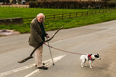 Old Gent from Nunnington, 93 and going strong. (Geordie_Snapper) Tags: april canon5d3 canon2470mm northyorkshire spring