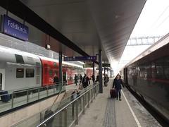 Feldkirch Station (CruisAir) Tags: austria feldkirch station platform train