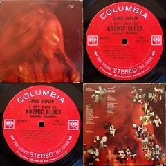 I Got Dem Ol' Kozmic Blues Again Mama! - Janis Joplin (Wil Hata) Tags: janisjoplin record vinyl album