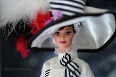 my fair lady (photos4dreams) Tags: barbie doll photos4dreams p4d photos4dreamz toy puppe movie film makeup gown dress kleid abendkleid ballkleid ball collectors collector myfairlady audreyhepburn hut schirm hat umbrella sonnenschirm