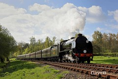 19th April 2017. Flying Scotsman and Service trains at the Bluebell (Dangerous44) Tags: bluebell railway steam engine locomotive s15 847