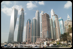 Marina (franz75) Tags: nikon d80 uae emiratiarabiuniti asia oriente mediooriente middleeast marina dubai twisted grattacieli skycreeper