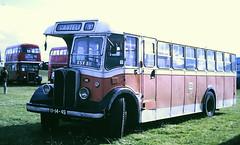 Slide 096-28 (Steve Guess) Tags: woburn abbey bedfordshire england gb uk bus rally showbus lisbon portugal aec regal esv811 141 carris 111449 lhd