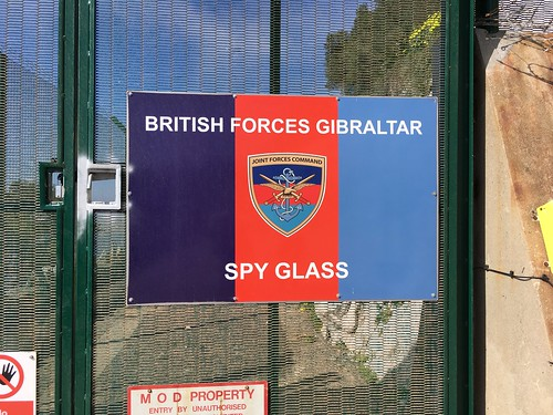 Spy Glass on Gibraltar. Sounds like something out of a Bond film. We didn't go in.