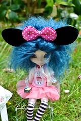 Macarons...Lequel? (alixir2.0) Tags: disney mickey mouse souris dessin animé pullip figurine toys jouet time gouter jardin gateau kawaii cute doll bjd poupée enfance alixir