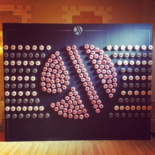 Donut Wall #Marriott