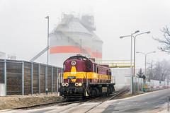 Тепловоз TEM2-121 / TEM2-121 diesel locomotive (anton_malyshev) Tags: railway railroad locomotive diesellocomotive tem2 poland pkp winter train