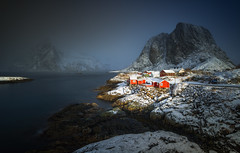 When magic happens (AdMixStar) Tags: lofoten norway travel adventure outdoor winter snow storm cold landscape light north polar