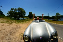 The Day I Lost Control of my Porsche Speedster (Studio d'Xavier) Tags: werehere forcedperspective porschespeedster porsche356 porsche 365 april262017 116365 wreck accident lossofcontrol