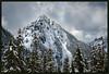 Winter Sky Over Plummer Peak (jk walser) Tags: d800e jkwalser mtrainiernationalpark plummerpeak tatooshrange wa snow snowshoe