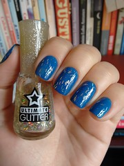 Excelso - Ludurana + Mar del Plata - Top Beauty (Mari Hotz) Tags: esmalte unha ludurana topbeauty azul gliter glitter