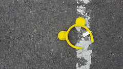 Car Park Ears (Jacob Whittaker) Tags: aberteifi lost found discarded thrown