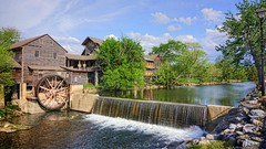 The Old Mill and Restaurant at Pigeon Forge Tn. DSC02364-01 (James Frazier (Nashville TN)) Tags: old mill pigeon forge tn