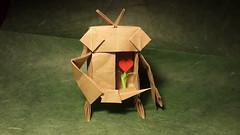 Растите в себе любовь Название: Robot Автор: Shunsuke Inoue Бумага: 45×45 см крафт (Янка) Tags: бумага paperlicious instaorigami хобби handmade беларусь робот origamiart minsk любовь минск paperfolding paperflexia оригамиминск оригами paper origamiminsk origami 折り紙 belarus love hobby robot