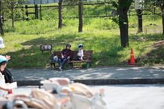 2017-04-30-10h36m03 (LittleBunny Chiu) Tags: 皇居外苑 腳踏車 騎腳踏車 日本 東京 日本旅行 去日本旅行 東京台場 台場 人工沙灘 御台場海濱公園