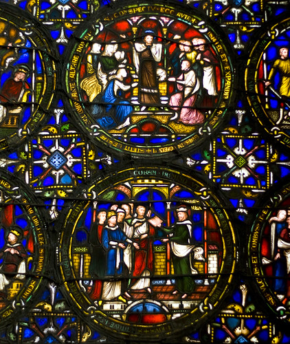Canterbury Cathedral Stained Glasswork