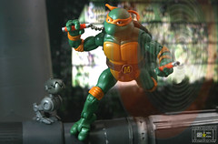 Michelangelo is a party dude (Raichu 08) Tags: mike michael ninja mikey turtles mutant angelo michelangelo mouser teenagemutantninjaturtles tmnt teenage nickelodeon heroesinahalfshell tmntclassics