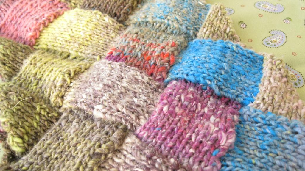 entrelac blanket knitting instructions