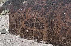 Petroglyphs / Grimes Point Site (Ron Wolf (...detests this new design...)) Tags: archaeology circle nevada nativeamerican petroglyph anthropology shoshone rockart blm piute radiatinglines numic grimespoint meanderingline repatination greatbasincurvilinear sectionedcircle nvch3