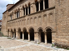The south wall of St Sofia's church (♔ Georgie R) Tags: church macedonia ohrid stsofia