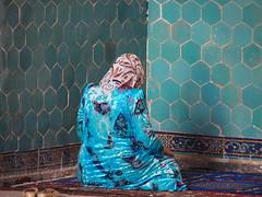 Uzbekistan 2013 (hunbille) Tags: uzbekistan shakhrisabz kok gumbaz mosque kokgumbaz friendlychallenges tile tiles