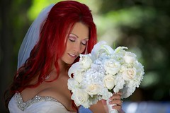 The bride and the bouquet (catherinelaceyphoto) Tags: family boy love girl canon children kid child father joy daughter mother son calamigosranchweddinglosangelesmalibuphotographybest