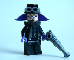 Evil Steampunk Dude (MrScareChrome) Tags: punk lego fig goth rail mini steam barf figure minifig cyber baron minifigure minifigures figbarf