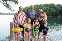 Grandchildren 2 (cdubya1971) Tags: noah ohio summer lake swim gavin maddie miracle away hills hide nana carter ruby hah lakehouse pap hocking lyla 2013