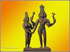 3207 - Kalyanasundara Siva... (chandrasekaran a 34 lakhs views Thanks to all) Tags: art heritage bronze icons traditions statues images hinduism sculptures cholas parvathi artisticwork pallavas lordsiva canon60d saivaism kalyanasundarar