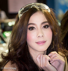 Hearty (Dion Cragg) Tags: portrait beauty asian thailand model hands asia lashes eyelashes bangkok models autoshow thai autosalon thaigirls asiangirls asianmodels asianbeauty asianmodel promogirls asianbeauties thaimodel thaimodels asianportrait asianportraits promogals bangkokautosalon2013