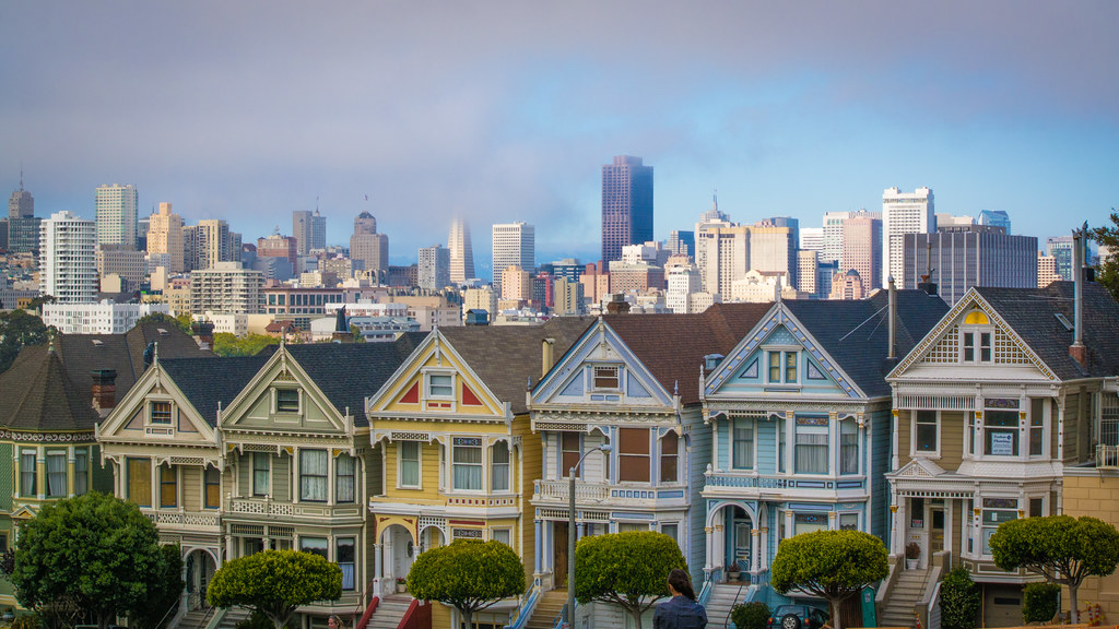 San Fransisco Painted Ladies by nan palmero, on Flickr