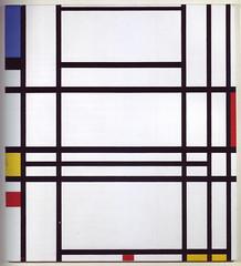 #13 Piet Mondrian - Composition (B137), 1939-42, $5,502,500 (19961112, N06913, Lot 50) (Hw) Tags: pietmondrian