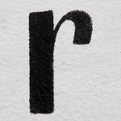 letter r (Leo Reynolds) Tags: canon eos iso100 r 7d letter rrr f80 oneletter lowercase 0004sec hpexif 122mm grouponeletter xsquarex xleol30x xxx2013xxx