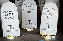 Spirit of Southbank (garryknight) Tags: london broken grave graveyard dead nikon bmx southbank gravestone skateboard lightroom skateboardpark southbankcentre undercroft 55200mmvr d5100 longlivesouthbank