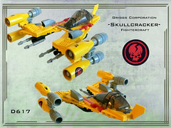 Skullcracker (Genghis Don) Tags: fighter lego space clones spacecraft moc starfighter fightercraft