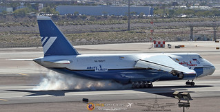 Polet Flight An-124-100 Ruslan RA-82077