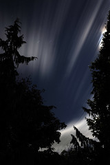 moving clouds II (cinotosi) Tags: night clouds f10 fullmoon longtimeexposure startrail movingclouds vividsky