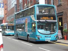 8055 20130708 Arriva Merseyside MX61 AXG (CWG43) Tags: uk bus mx61axg