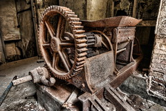 Cogwheel (solapi) Tags: abandoned beautiful factory rusty horror derelict hdr urbex dekay vigilantphotographersunite